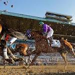 California Chrome stumbles in Belmont