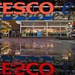 Tesco shares plunge after profit warning