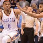 Westbrook leads Thunder past Kings without triple-double