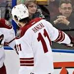 Coyotes' short-handed goals deflate Oilers
