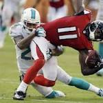Matt Bryant misses kick, Falcons' offense keeps stalling in 27-23 loss to Dolphins