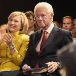 Bill Clinton ready to be Hillary's 'backstage adviser'
