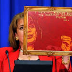 AP says Zimmerman painting is copy of AP photo