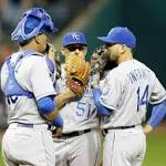 Jason Vargas continues troubling skid as Indians beat Royals 6-4