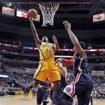 Wizards falter late, lose to Pacers, 103-101, for fourth straight defeat