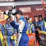 First time winner: AJ Allmendinger gets career win
