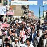 Yemen Shia militia fire in air to disperse Sana'a protest
