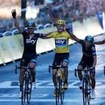 How Froome won the Tour - the key stages