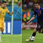 Australia v Holland, World Cup 2014: live