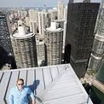 A death-defying stunt is business as usual for Chicago's Marina City