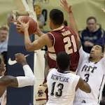 Pittsburgh holds off Boston College 71-65