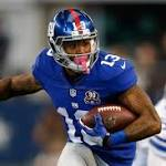 Odell Beckham Jr. Enters Bye Week as Giants' Playmaker