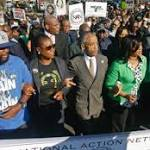 Activists and families march against stand your ground