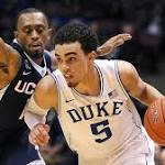 Duke shows it can win anywhere with impressive showing against UConn