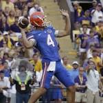 No. 22 Florida swaps punters, benching Kyle Christy, a week after changing ...