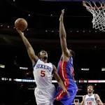 Smith, Richardson lead 76ers past Pistons