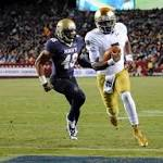 Follow along with updates from Notre Dame-Navy