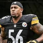 AP Source: Steelers to cut LB Woodley