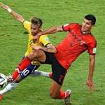 Mexico thwarts Brazil as both sides battle in gripping goalless draw