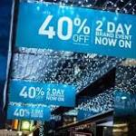 One in three families to do all their Christmas shopping on Black Friday