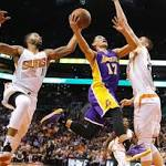 Kobe Bryant absent in Los Angeles Lakers' 115-100 loss to Phoenix Suns as ...