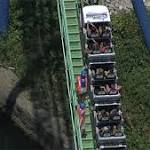 Texas Riders Get Stuck On Six Flags Roller Coaster