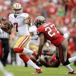 SMOOTH SAILING: 49ers cruise through Tampa Bay and grab a lopsided win