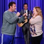 Watch Adam Sandler Serenade Drew Barrymore's Boobs