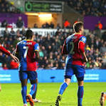 Swansea City 1 Crystal Palace 1: match report