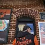 Baltimore Orioles play to unpacked house