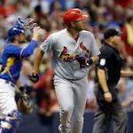 Brewers Build a Six Run Early Lead, Lose to Cardinals Anyway