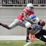 No. 2 Ohio State starts fast, then struggles in win over Buffalo