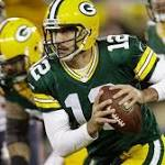 Packers' Rodgers out for Dallas game