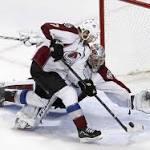 Avs' Varlamov stops 54 to blank Blackhawks
