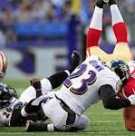 49ers-Ravens Day 2: 49ers defense bounces back; Snyder goes down