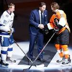Flyers Notes: Hall of Famer Forsberg takes a bow at Flyers game