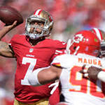 Kaepernick and Niners win battle against former top pick Alex Smith