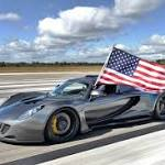 World's Fastest Car MPH: Hennessy Venom Beats Bugatti Veyron Super Sport ...