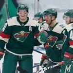 NHL roundup | Wild look great outdoors, rip Blackhawks