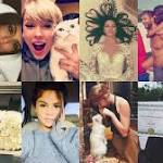 Taylor Swift ruled Instagram in 2015