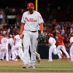 Phillies lose to Cardinals in bottom of ninth