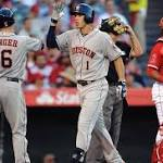 Carlos Correa nearly hits for cycle in 13-3 win over the Angels
