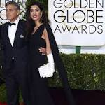 Amal Clooney's white gloves: hit or miss?