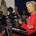 Clinton seeks to shore up black support in SC