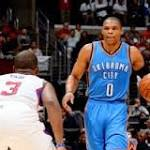 Injury-decimated Oklahoma City hopes to survive until Durant, Westbrook return