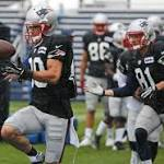 Patriots Training Camp Notes: Clean Practice For Offense Despite Rain-Soaked ...