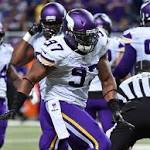 Patterson shines, Vikings whip Rams 34-6