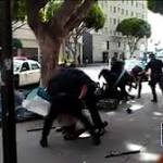 LAPD shooting of homeless man raises questions around police training