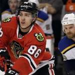 Blackhawks continue to pay steep price for recent Stanley Cup success
