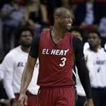 Dwyane Wade reaches 20000 career points in Heat's 122-101 win over Cavaliers